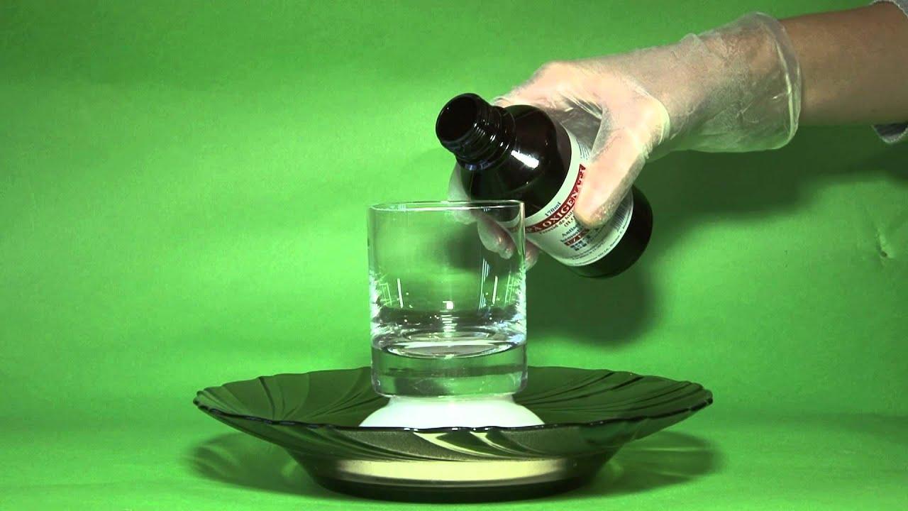 hidrogén peroxid férgek kezelésére
