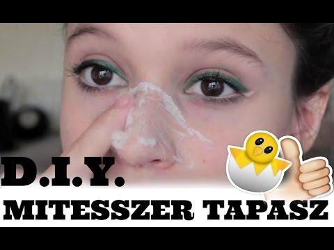 paraziták az arcbőr kezelésében
